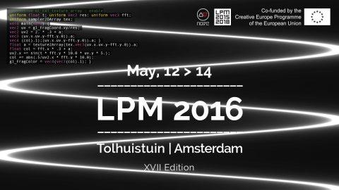 Image for: LPM 2016 Amsterdam | LPM 2015 > 2018