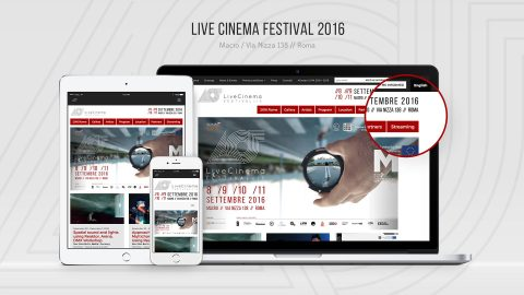 Image for: Live Cinema Festival 2016 – Web Site