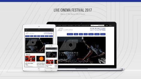 Image di: Live Cinema Festival 2017 – Web Site