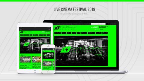 Image di: Live Cinema Festival 2019 – Web Site